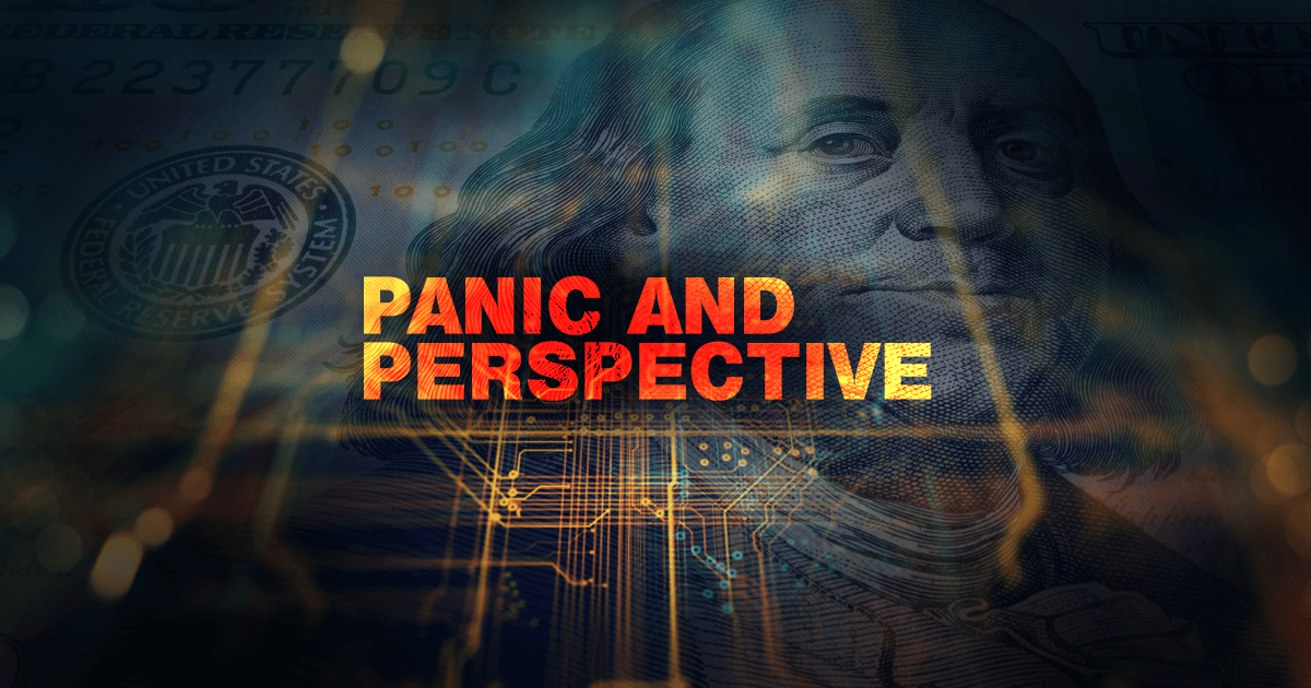 Markets may have panicked today, but we think it's best if investors respond with poise and patience instead.