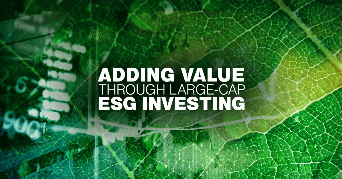 Can my investments do well while the companies I invest in do good? This is a question many investors ask as they consider portfolios that assess ESG factors as part of the investment process.
